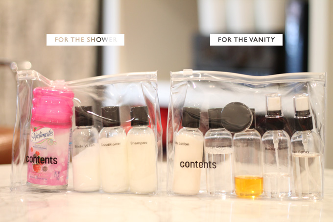 ShowerVanityBags