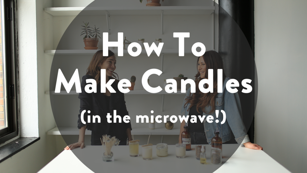 TLS Vlog #7: How to Make Candles in the Microwave @ jesslively.com/diycandles