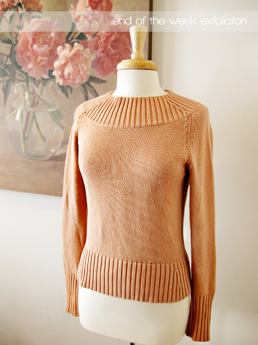 exfoliationsweater