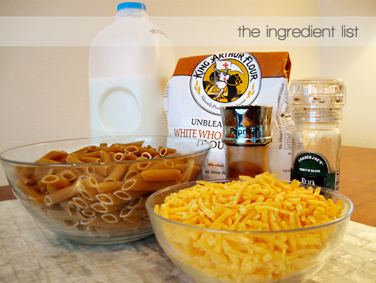 macandcheeseingredients
