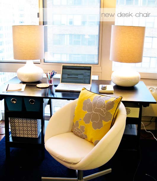 intentional obsession: new desk chair | Jess Lively