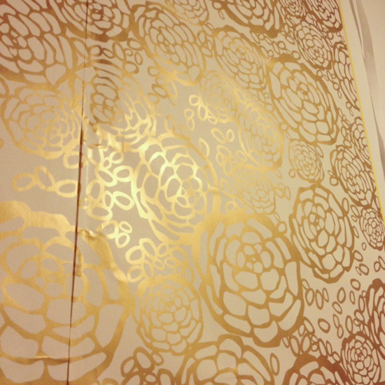 Gold Removable Wallpaper