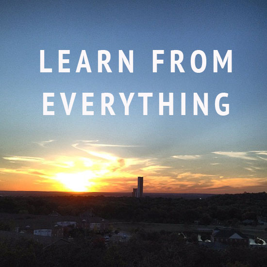 learn-from-everything