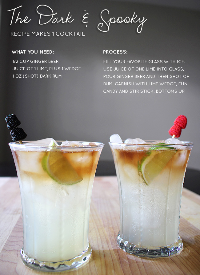 Dark-and-Spooky Recipe // Lemon Drop Love via Jess Lively